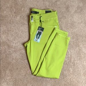 Torrid Lime Green Jegging Jeans